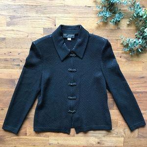 St. John's evening collection knit blazer